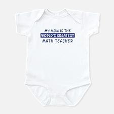 Math Teacher Mom Infant Bodysuit