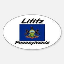 Lititz Pennsylvania Oval Decal