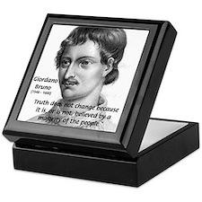 Freedom of Thought Bruno Keepsake Box