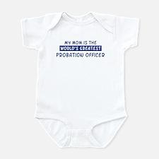Probation Officer Mom Infant Bodysuit