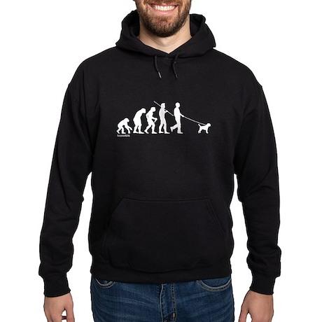 Border Terrier Evolution Hoodie (dark)
