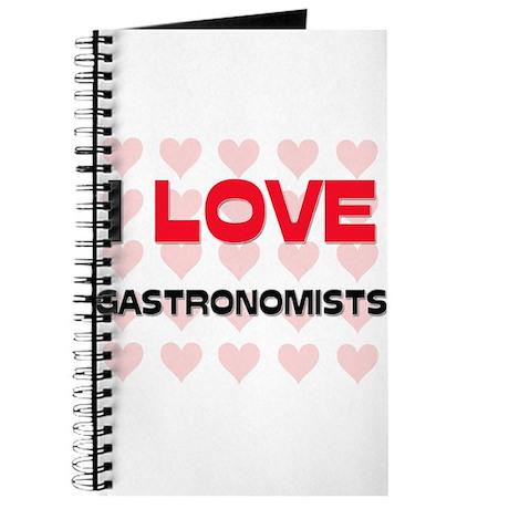I LOVE GASTRONOMISTS Journal