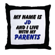 my name is jd and I live with my parents Throw Pil
