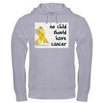 No child cancer Hooded Sweatshirt