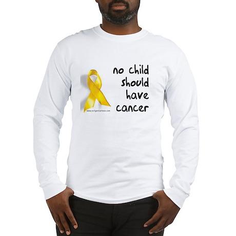 No child cancer Long Sleeve T-Shirt