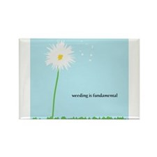 Weeding Is Fundamental Rectangle Magnet