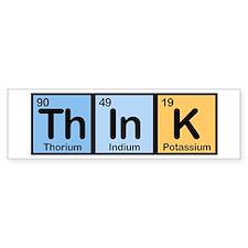 Think Made of Elements Bumper Bumper Sticker
