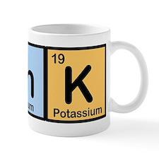 Think Made of Elements Small Mug