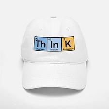 Think Made of Elements Baseball Baseball Cap