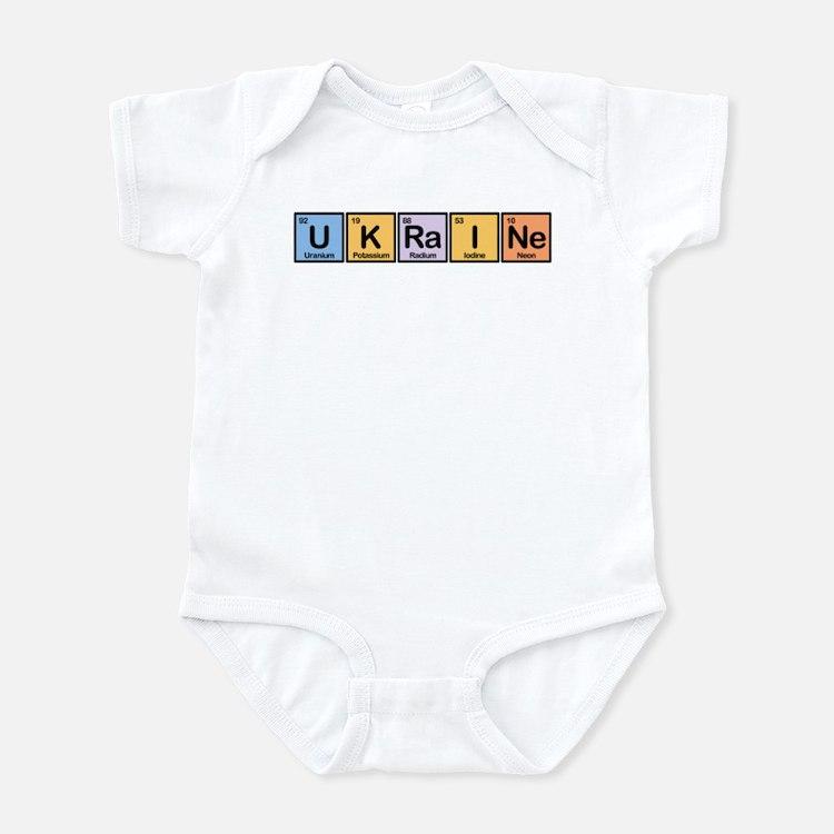 Ukraine Made of Elements Infant Bodysuit
