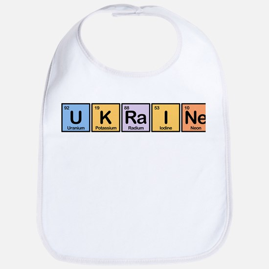 Ukraine Made of Elements Bib