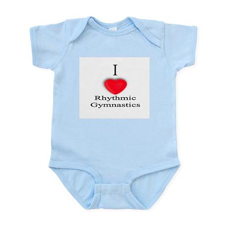 Rhythmic Gymnastics Infant Creeper
