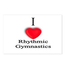 Rhythmic Gymnastics Postcards (Package of 8)