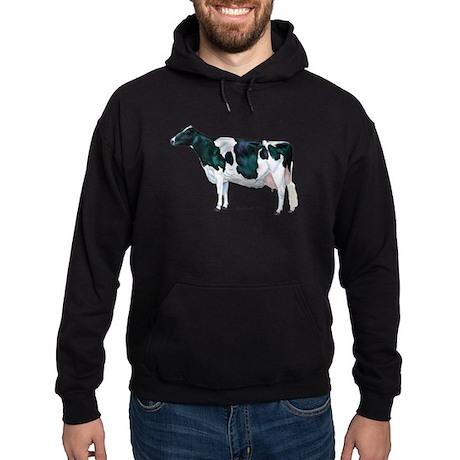 Holstein Cow Hoodie (dark)