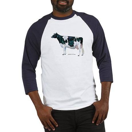 Holstein Cow Baseball Jersey