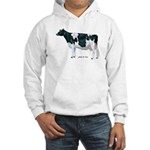 Holstein Cow Hooded Sweatshirt