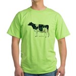 Holstein Cow Green T-Shirt
