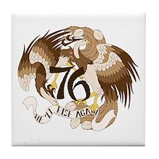 We'll Rise Again Feng-Huang Tile Coaster