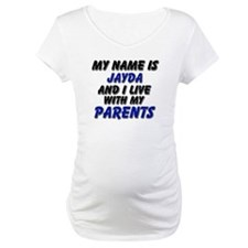 my name is jayda and I live with my parents Matern