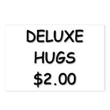 Deluxe Hugs $2.00 Postcards (Package of 8)
