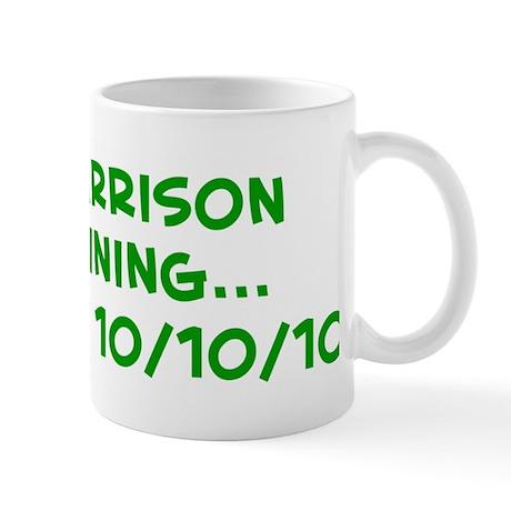 Mrs Harrison In trainin Mug