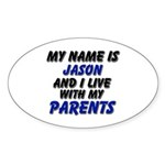 my name is jason and I live with my parents Sticke