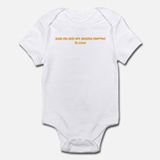Both my Kids are getting mar Infant Bodysuit