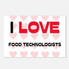 I LOVE FOOD TECHNOLOGISTS Postcards (Package of 8)