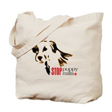 Stop Puppy Mills Tote Bag