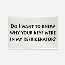 Keys in my Refrigerator? Rectangle Magnet (10 pack