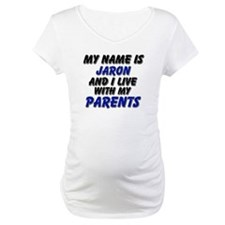 my name is jaron and I live with my parents Matern