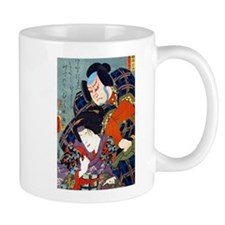 Double Kabuki Actor Portrait Mug