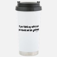 Wifes Hot Girlfriend Thermos Mug