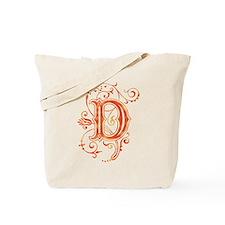 Letter D Tote Bag