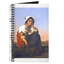 Roman Peasant Girl Journal