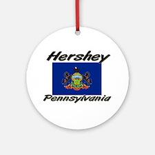 Hershey Pennsylvania Ornament (Round)