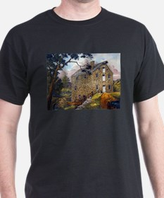 Cooper Grist Mill, Chester (b T-Shirt