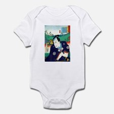 Cute Ukiyo e Infant Bodysuit