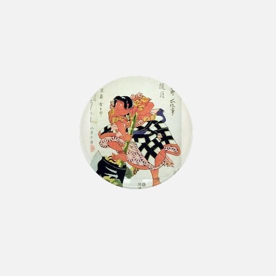 Unique Ukiyo e Mini Button