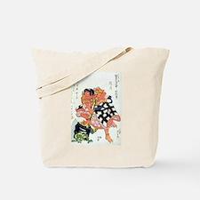 Unique Ukiyo e Tote Bag