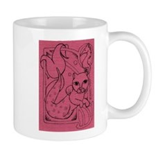 Rose MerCat Mug
