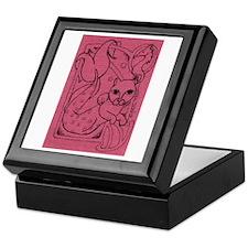 Rose MerCat Keepsake Box
