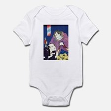 Funny Ukiyo e Infant Bodysuit