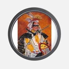 Funny Horse feathers Wall Clock