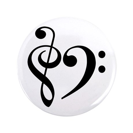 """Music 3.5"""" Button (100 pack)"""