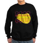 S&O Up/Down Red/Yellow Sweatshirt (dark)