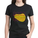 S&O Up/Down Red/Yellow Women's Dark T-Shirt