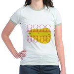 S&O Up/Down Red/Yellow Jr. Ringer T-Shirt