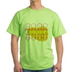 S&O Up/Down Red/Yellow Green T-Shirt