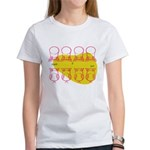 S&O Up/Down Red/Yellow Women's T-Shirt